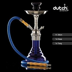 Shisha Dutch 34cm Blue - Top quality