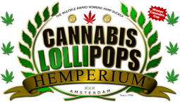 Sucettes Cannabis Lollipops
