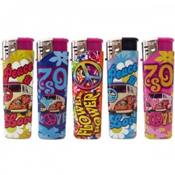 Peace and Love Electronics lighters