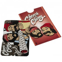 "Cheech e Chong os 2 atores do filme ""Precisa encontrar o selo"""