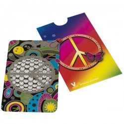 Le grinder carte Peace and Love pour les babas cool