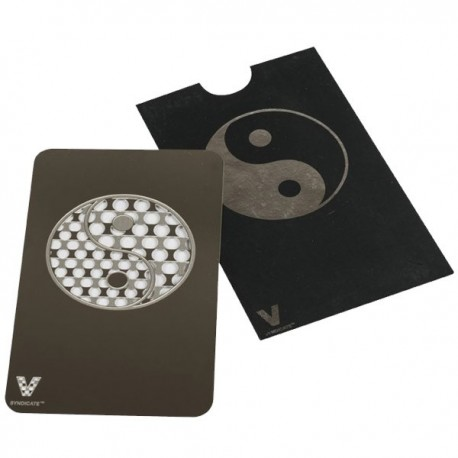 Grinder Ying and Yang in credit card format