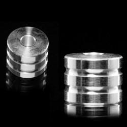 De pie de un tampón de aluminio