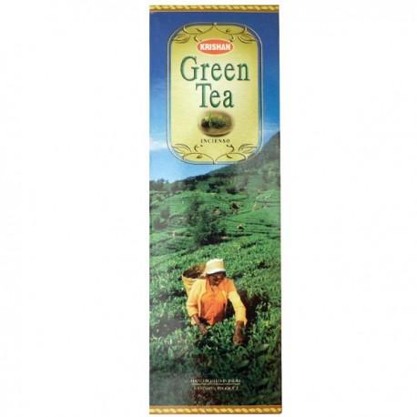Incense Krishan scent green Tea