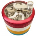 Crank Grinder Red-Gold-Blue 4 parts Ø60mm