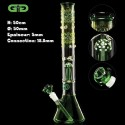 Mushroom green Beaker Grace Glass bong