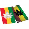 Grinder tarjeta Cannabis Rasta