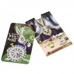 Grinder tarjeta con el Conejo Blanco