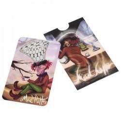 Grinder tarjeta con el Sombrerero loco de Alicia en el país de las maravillas