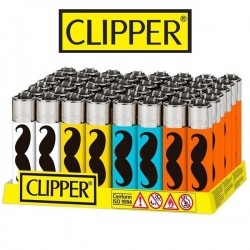 Clipper lighters Mustache