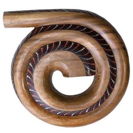 Didgeridoo spiraal, uitstekend geluid