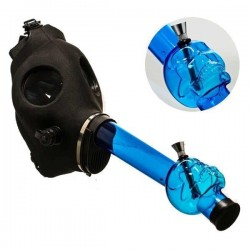 Bang Masque à gaz Skull bleu