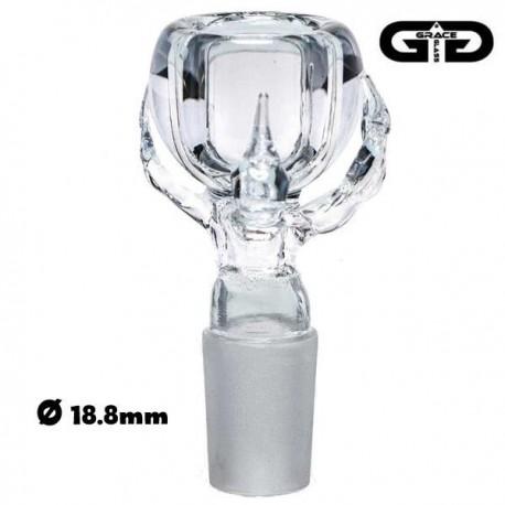 Socket uitzonderlijke gemaakt door de Genade Glas