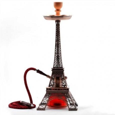 Chicha ou narguilé réplique de la célèbre Tour Eiffel