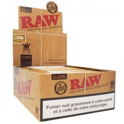 Raw Slim king size rolling paper Box
