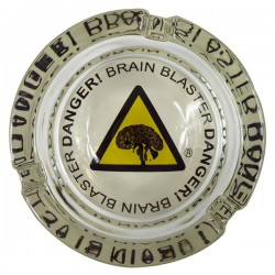 Glass ashtray Brain Blaster
