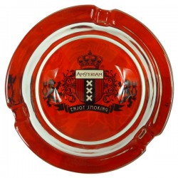 Ashtray Amsterdam glass
