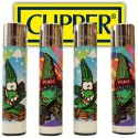 Clipper lighters Canna-Bud x4