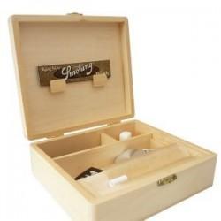 Spliff caja de Rollo de la Bandeja de T3, cuadro para el material y almacenamiento