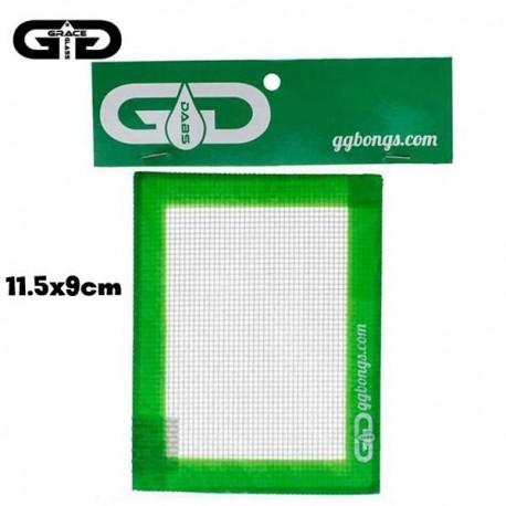Tapete de silicona o Oil pad pequeño para aceites, bho y concentrados