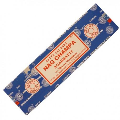Encens Nag champa bleu en paquet de 100gr