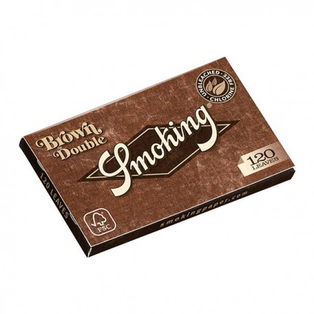 Carnet Smoking Brown regular
