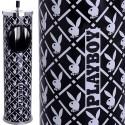Cendrier corbeille Playboy Noir & blanc