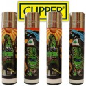 Briquets Clipper Canna-Bud