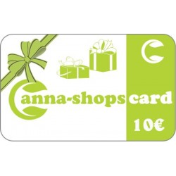 Gift card of a value of€10