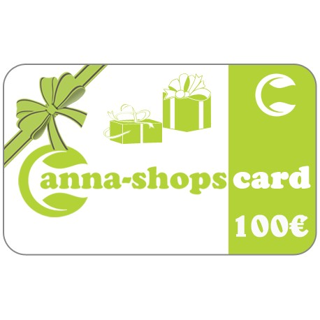 Gift card of a value of€100