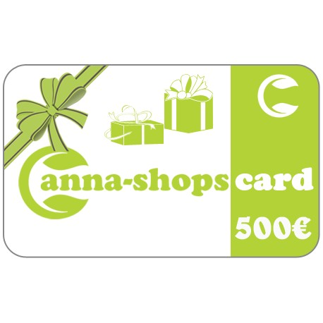 Gift card of a value of€500