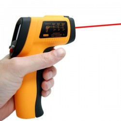 Laser thermometer infrared