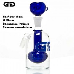 Grace Glass Pre Enfriador Azul 14,5mm showerhead