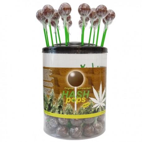 Sucettes Lollipop goût Hash