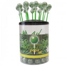 Sucettes Lollipop Cannabis