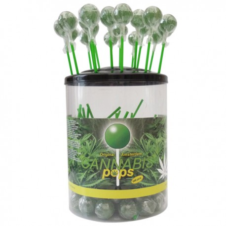Sucettes Lollipop Cannabis