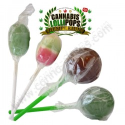 Mix of 40 Cannabis Lollypops