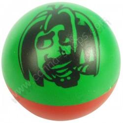 Grinder Ball Rasta en 2 parties couleurs Vert, Jaune, Rouge
