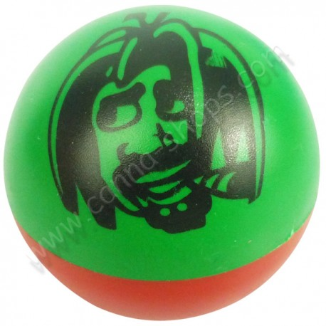 Grinder Ball Rasta en 2 parties couleurs Vert, Jaune, Rouge