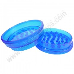 Grinder 2 parties 60mm Bleu