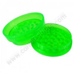 Grinder en plastique acrylique 2 parties