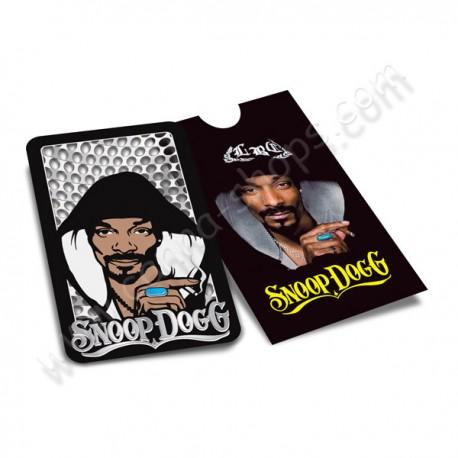 Grinder carte avec le rappeur Snoop Dogg