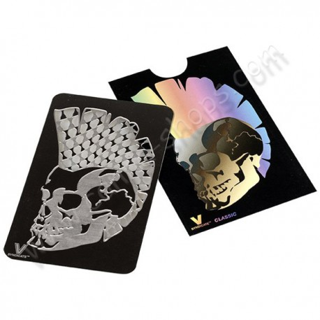 Grinder carte Mohawk Skull par le fabricant de grinder carte V-Syndicate
