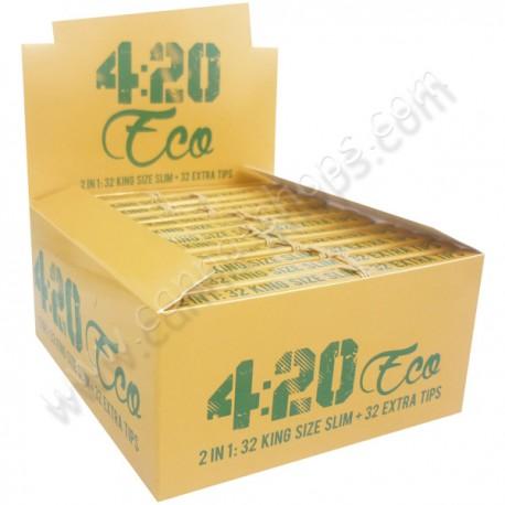 Boite de feuilles 420 Eco (feuilles + filtres)