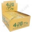 420 Eco king size rolling papers (papers + tips)