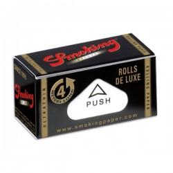 Boite de Smoking Deluxe Rolls ou feuilles à rouler en rouleaux