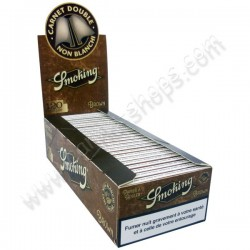 Smoking Brown papel de fumar regular vendido por caja