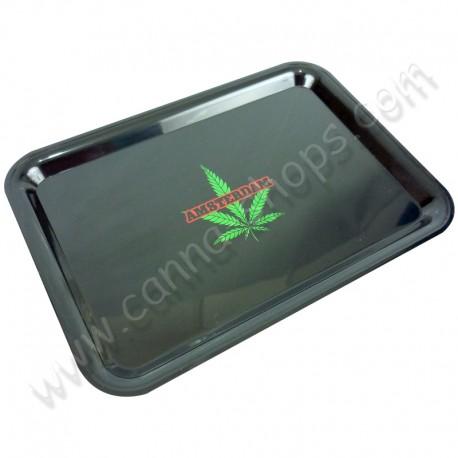 Black rolling tray Amsterdam