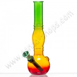 Rasta Bouncer Glass bong
