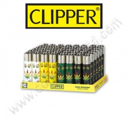 Briquets Clipper Cannabis